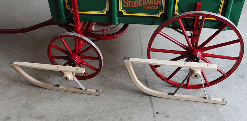 Reproduction Old Time Studebaker Junior Kids Farm Wagon