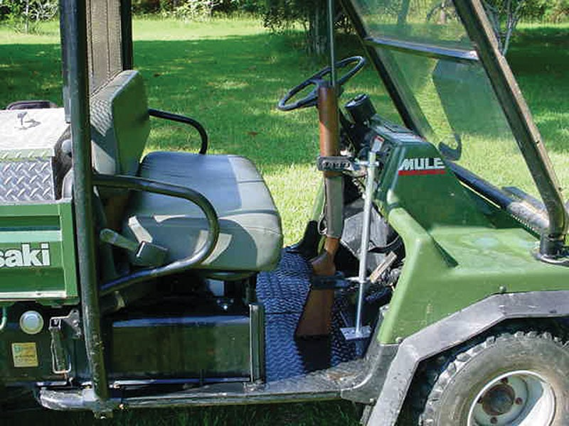 Universal Utv Rtv Horizontal Vertical Gun Rack Secures