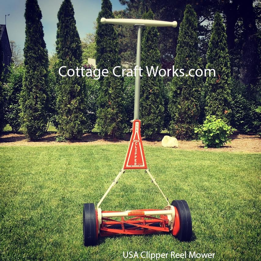 Clipper Hand Push Reel Lawn Mowers Made In The Usa