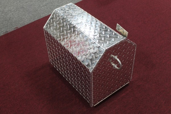 Large Jumbo Aluminum Diamond Plate Mail Box