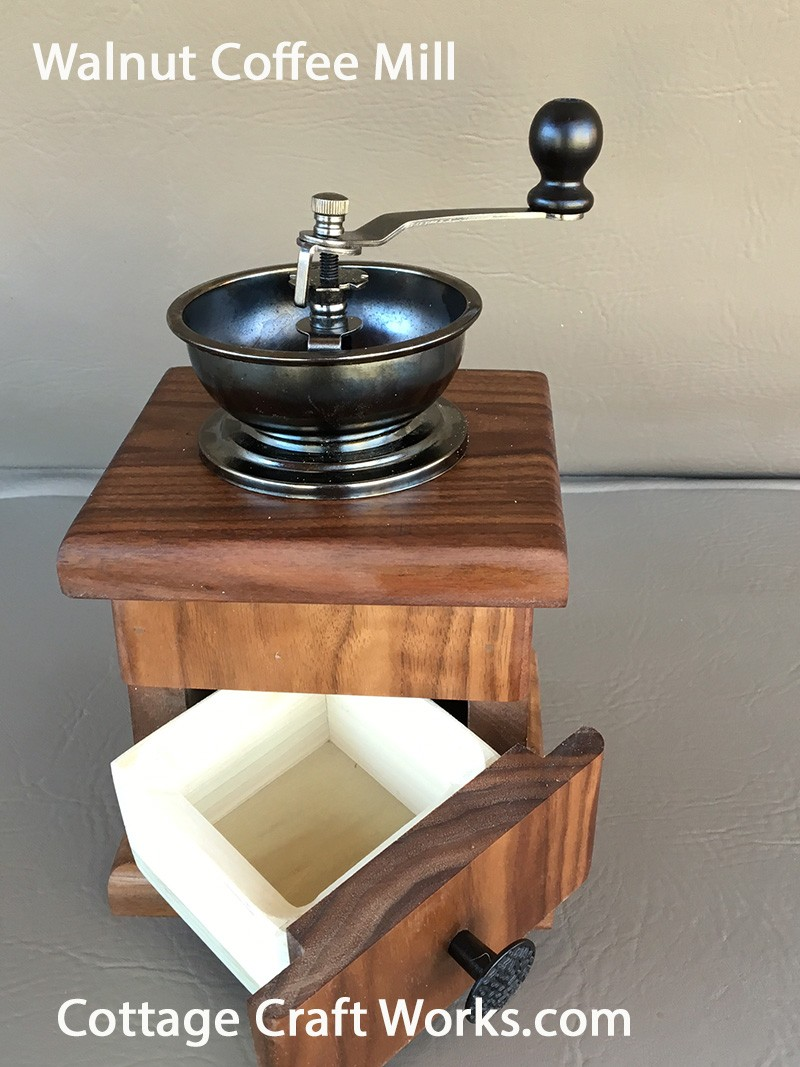 Handcrafted Old Fashioned Hand Crank Coffee Grinder Mill