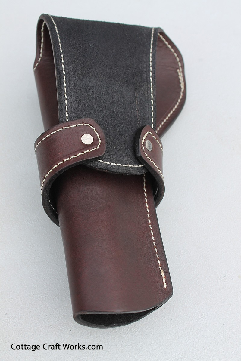 Western Style Holster For 45 Caliber Pistols