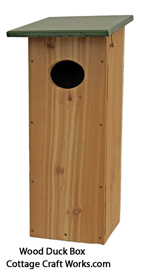 Wood Kit To Build A Wood Duck Nesting Box