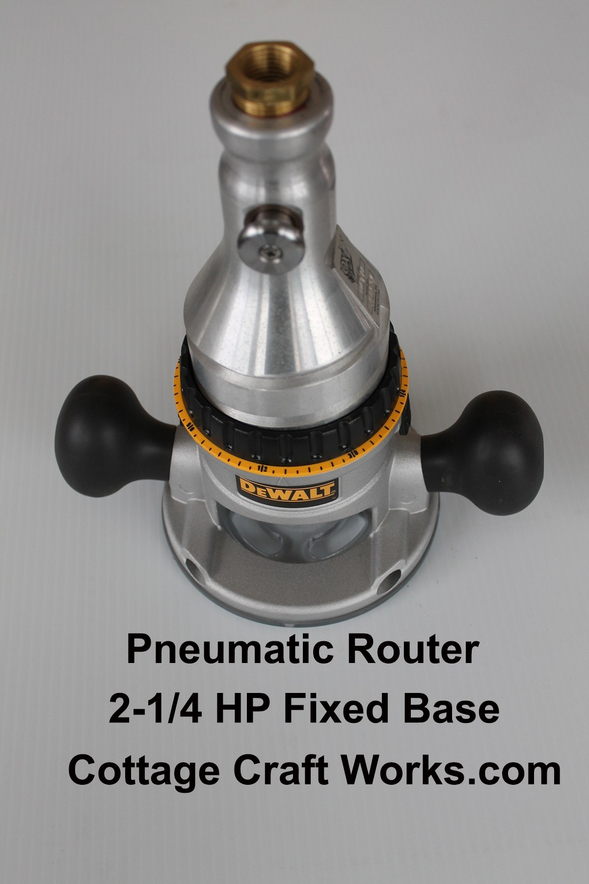 2-1/4 HP Air Powered Router
