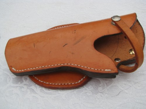 45 Caliber Leather Paddle Holster | Leather Holsters