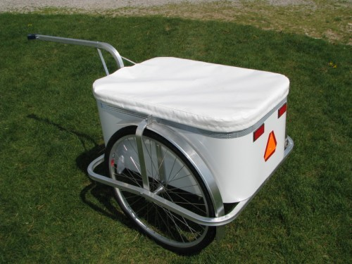 All Aluminum Bicycle Cargo Trailer  | Bike Cart