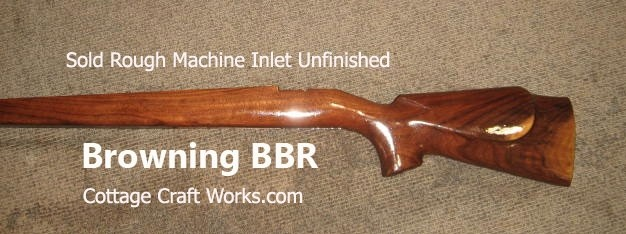 Browning BBR Walnut Rifle Stock