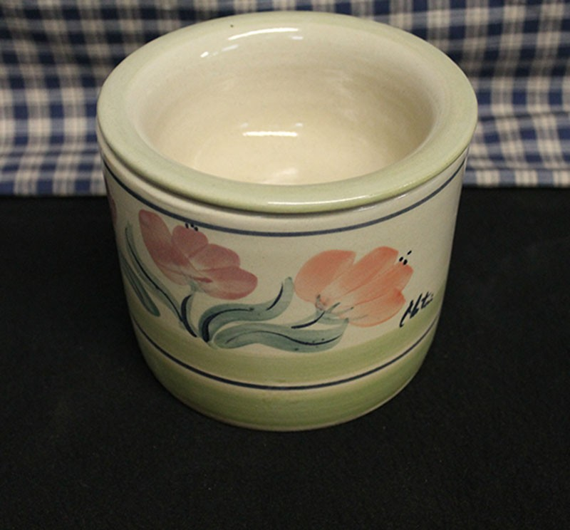 USA Stoneware | Chip & Dip | Ice Chilled | Condiment-Dip Bowl