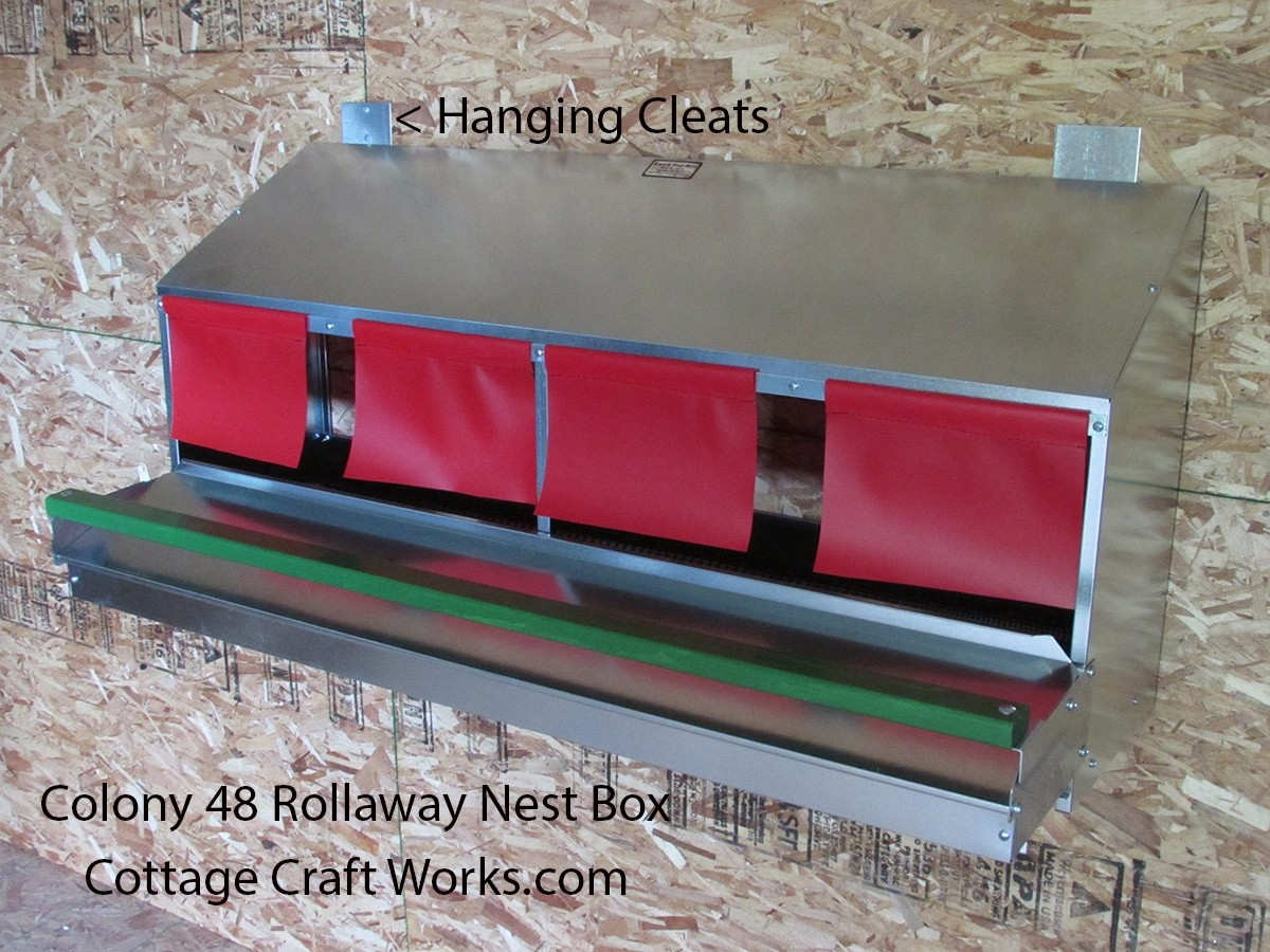 Rollaway Nest Box Colony 48