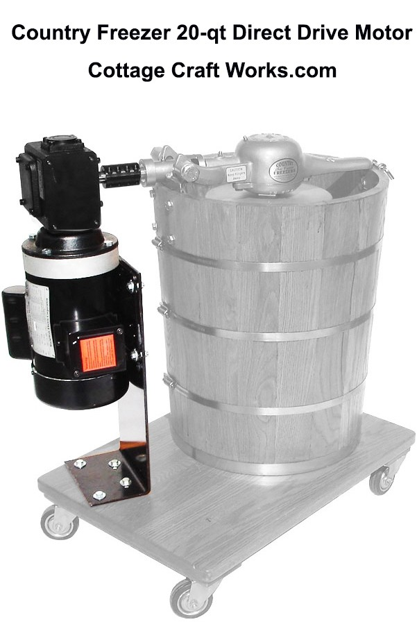 Country Freezer 20-Qt Direct Drive Motor Kit