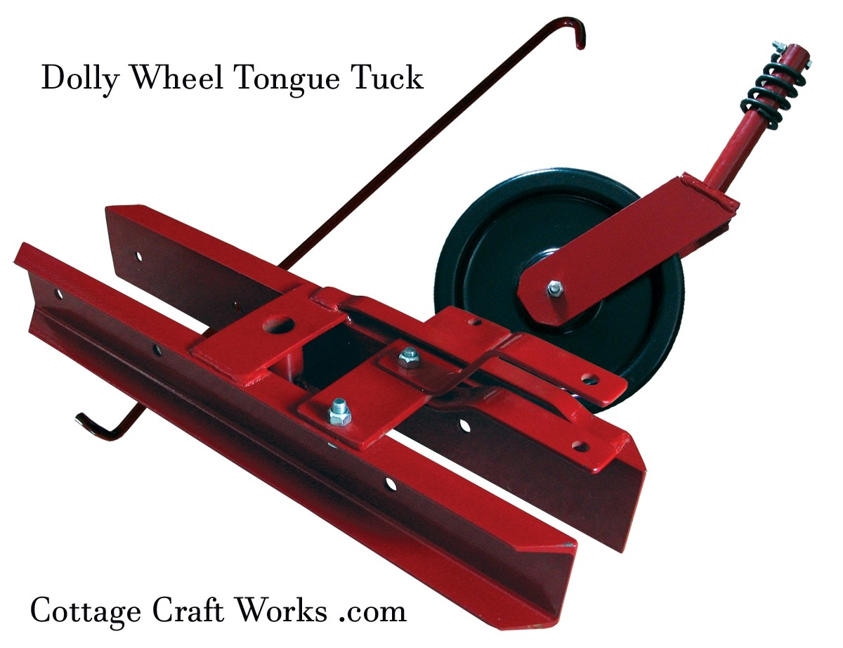 Sickle Mower Dolly Wheel Tongue Tuck