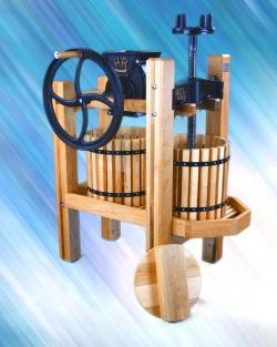 Old Fashioned Double Tub Cider Press-Mill