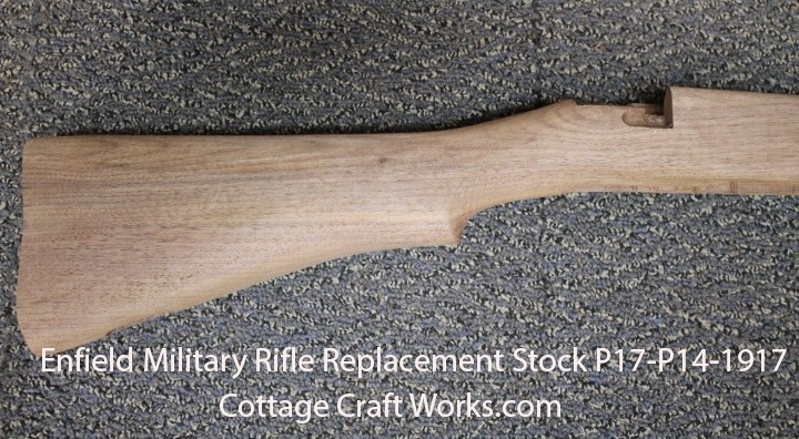 Enfield Military Rifle Replacement Stock P17-P14-1917