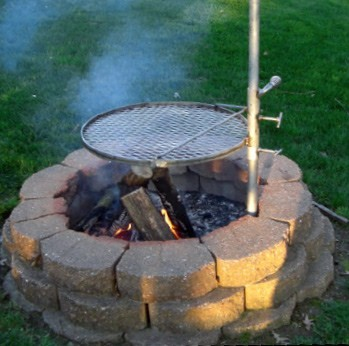 Stainless Steel Camp Grill