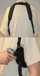 Horizontal Shoulder Holsters