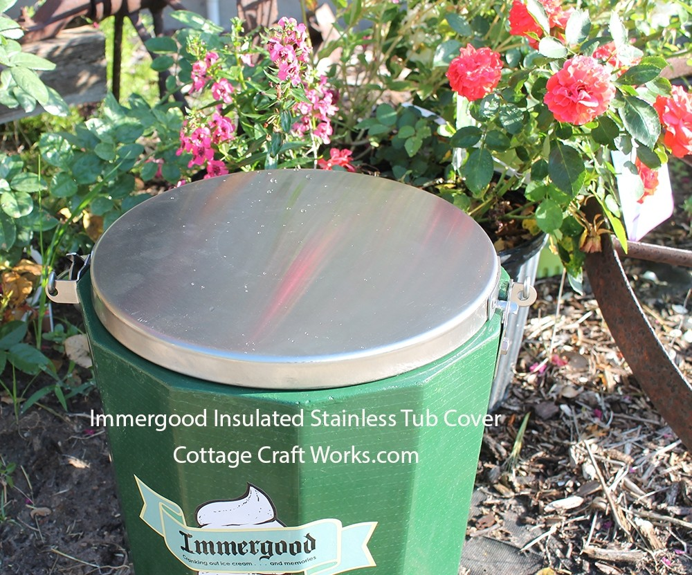 Immergood Stainless Steel Insulated Tub Cover