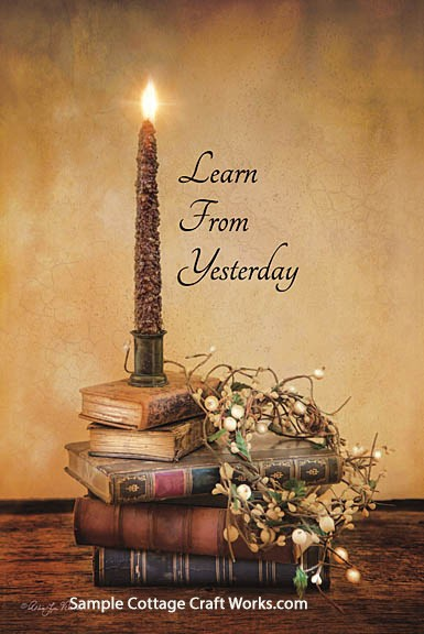 6. Learn From Yesterday- #1812-RLV160