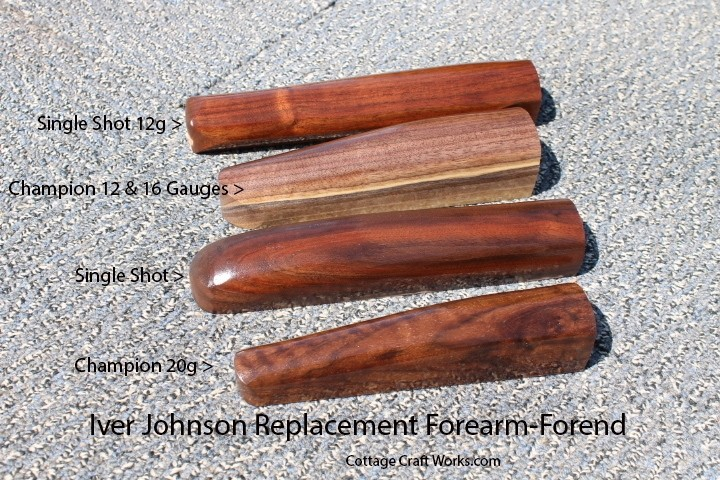 Iver-Johnson-Single-Shot-Replacement-Forearms