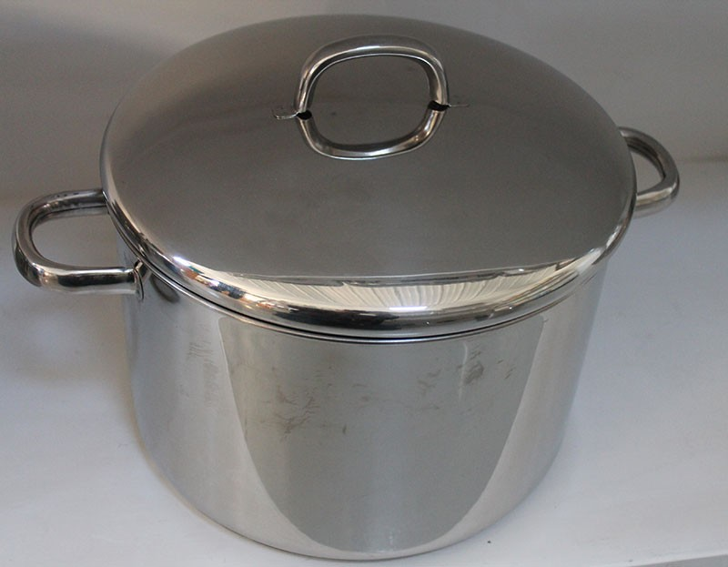 Heavy Stainless Steel Stock Pot 20qt