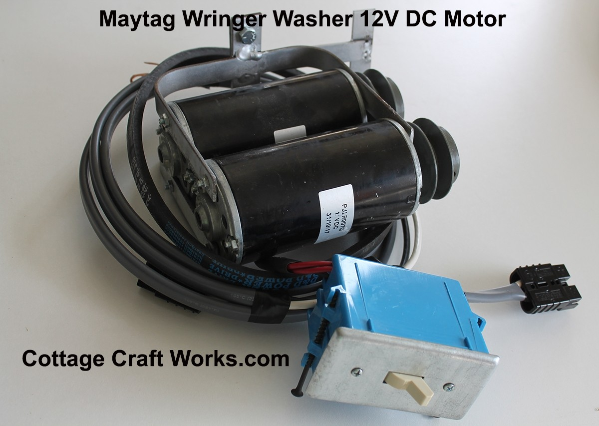 Vintage Maytag Wringer Washer Off Grid Replacement Motor