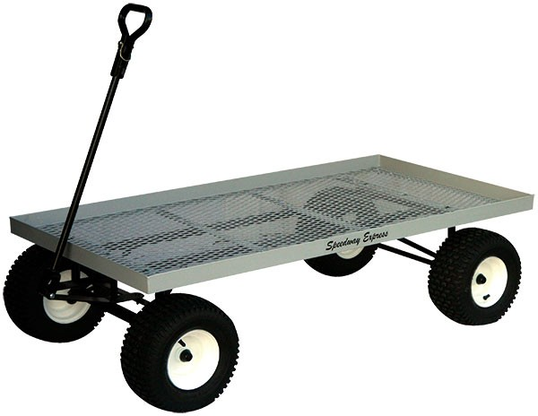 Nursery Wagon Model 580 Flat Metal Mesh
