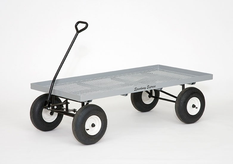Wire Mesh Commercial Duty 30 X 60 Nursery Wagon Model 980