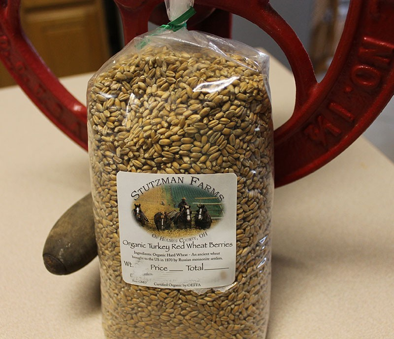 Amish Organic Ancient Red Wheat Berry 25 lb