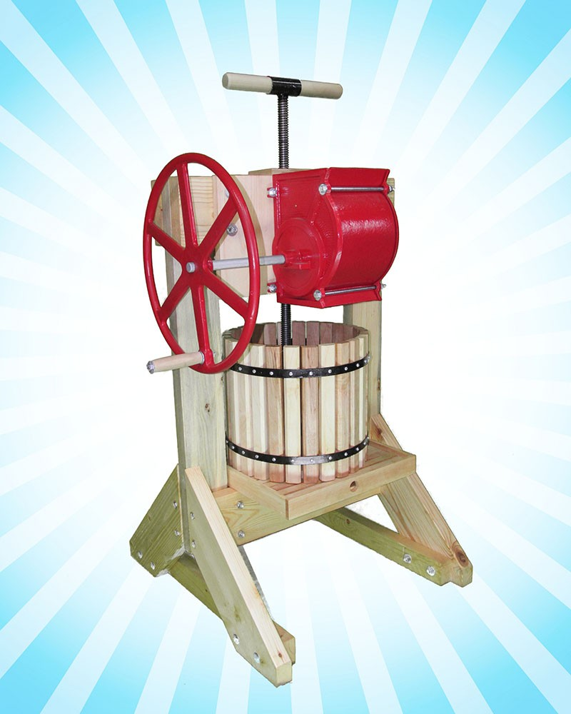 Sustainable Living Budget Cider Press-Mill