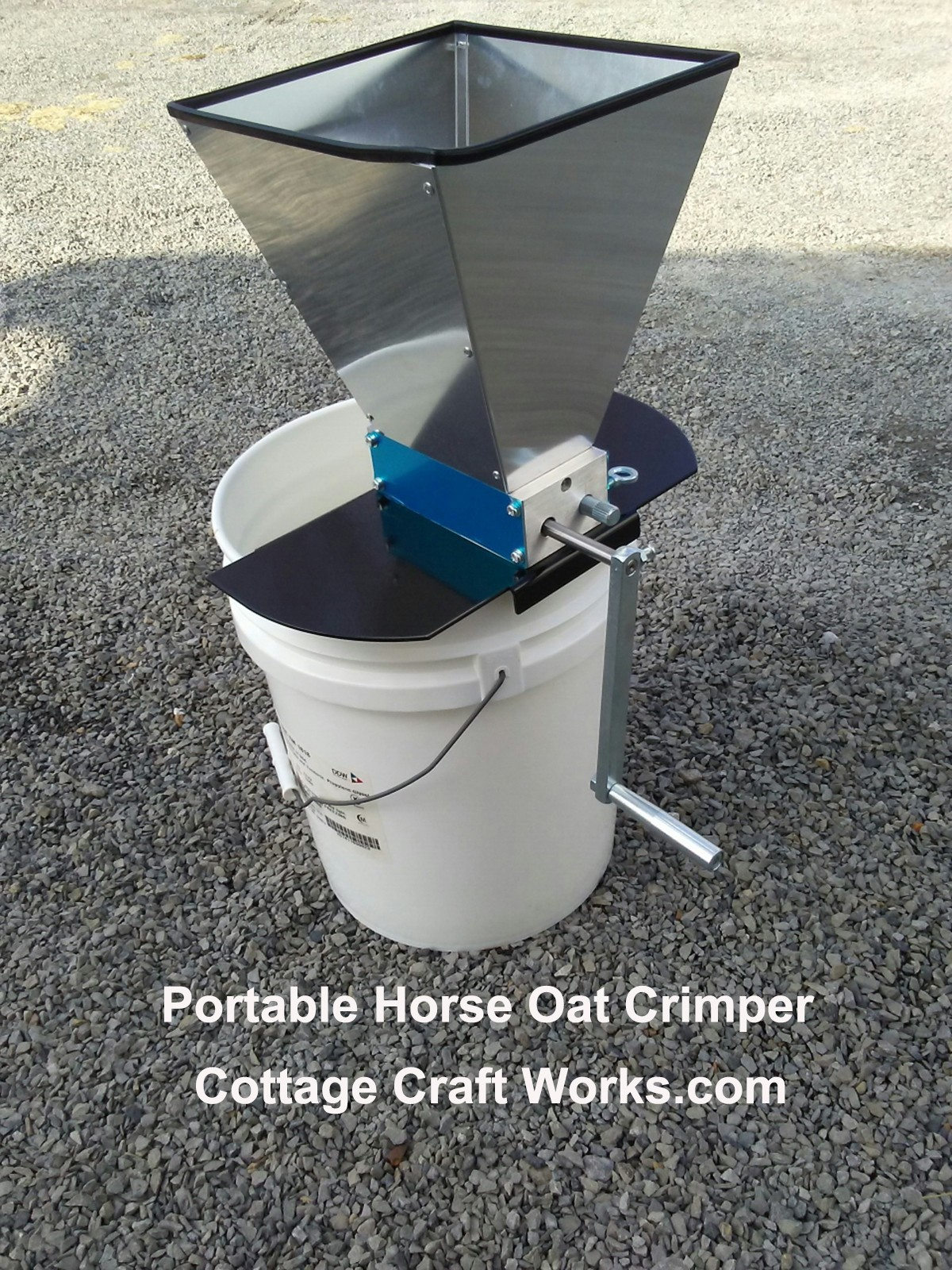 Portable Horse Oat Crimper