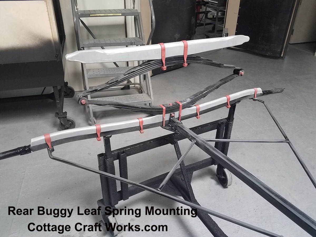 Amish Buggy-Carriage Rear Leaf Spring Mounting