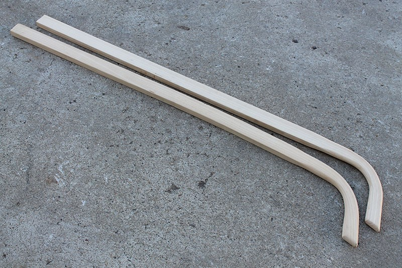 Stock Cultivator Replacement Handles | 7/8 Inch Thick