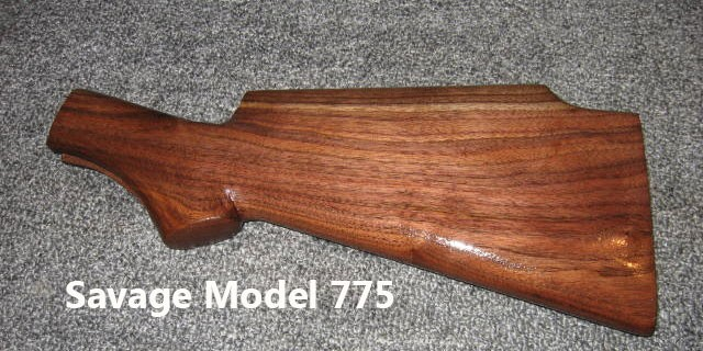 Savage Model 775 Walnut Stock