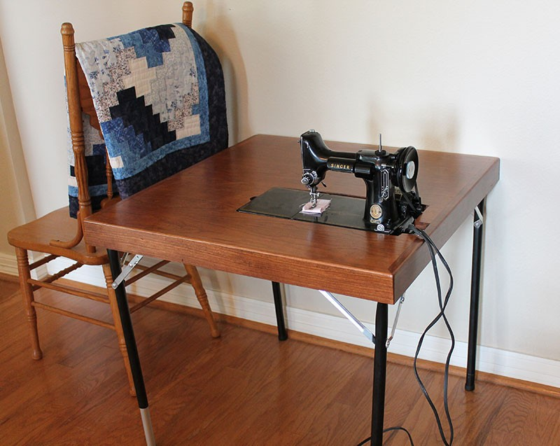Singer Featherweight Card Table | Reproduction | Singer 221-301