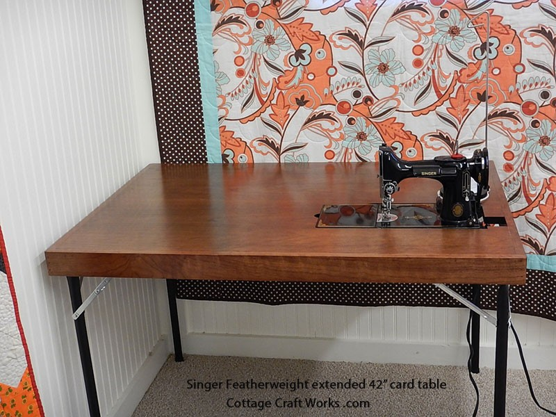 Singer Featherweight Card Table | 42 Inch Extended | 221-301