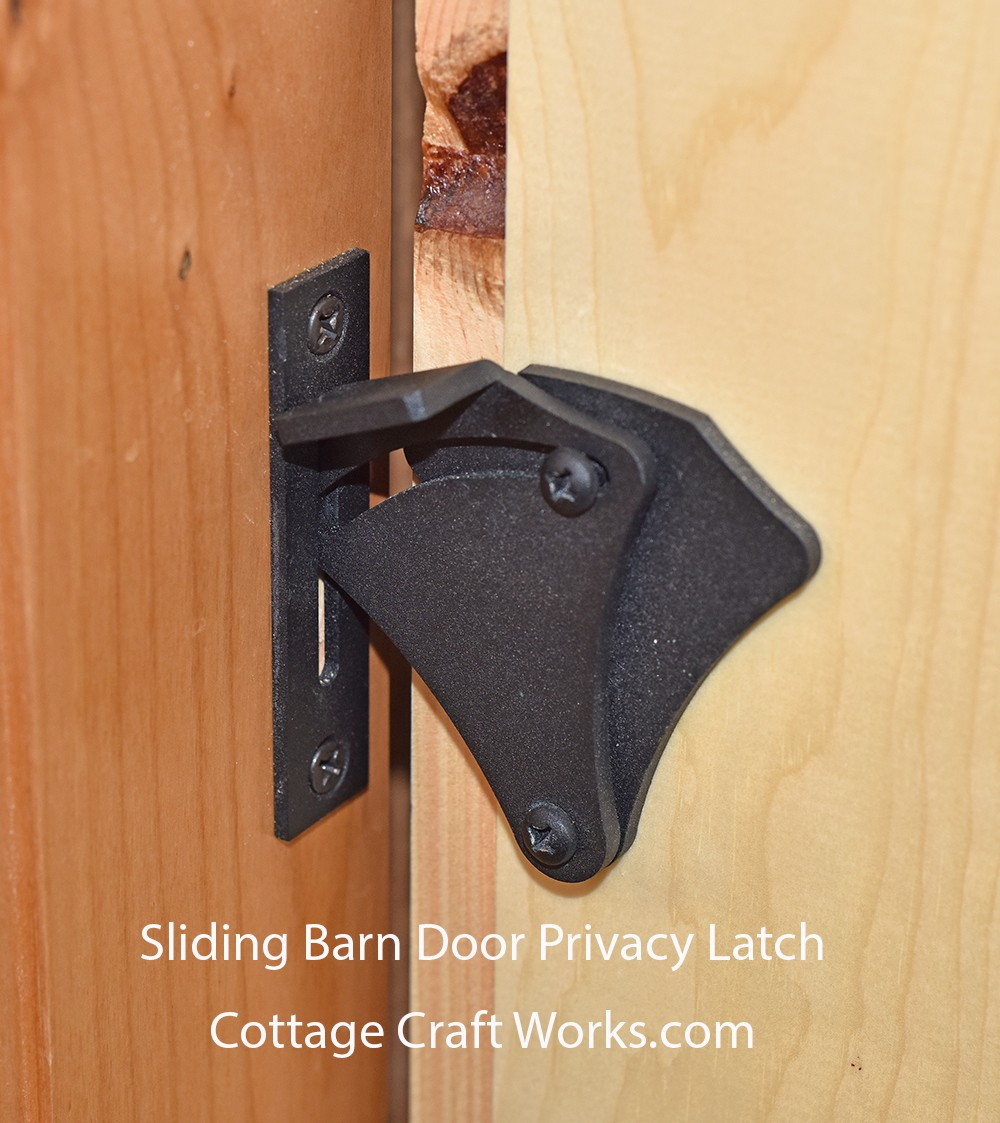 Sliding Barn Door Privacy Latch