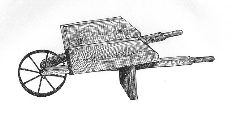 Small Wooden Vintage Wheelbarrow Plans Amp Hardware