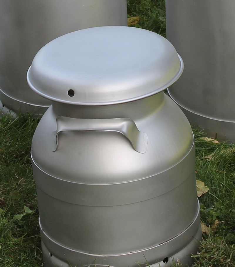 Made In The Usa Stainless Steel 3 Gallon Milk Cans