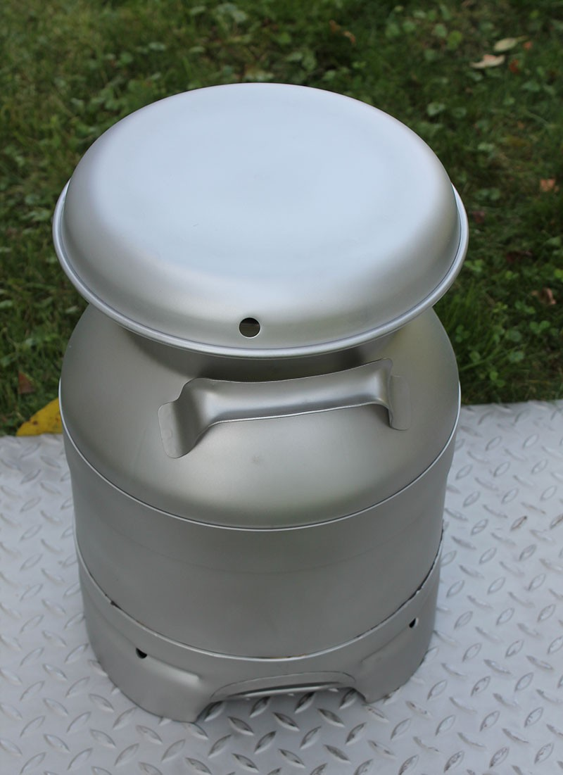 Usa Stainless Steel 3 Gallon Milk Can Drain Spout