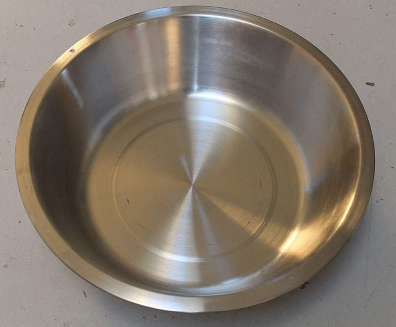 Heavy Duty Deep Stainless 8 1 2 Qt Dish Pan