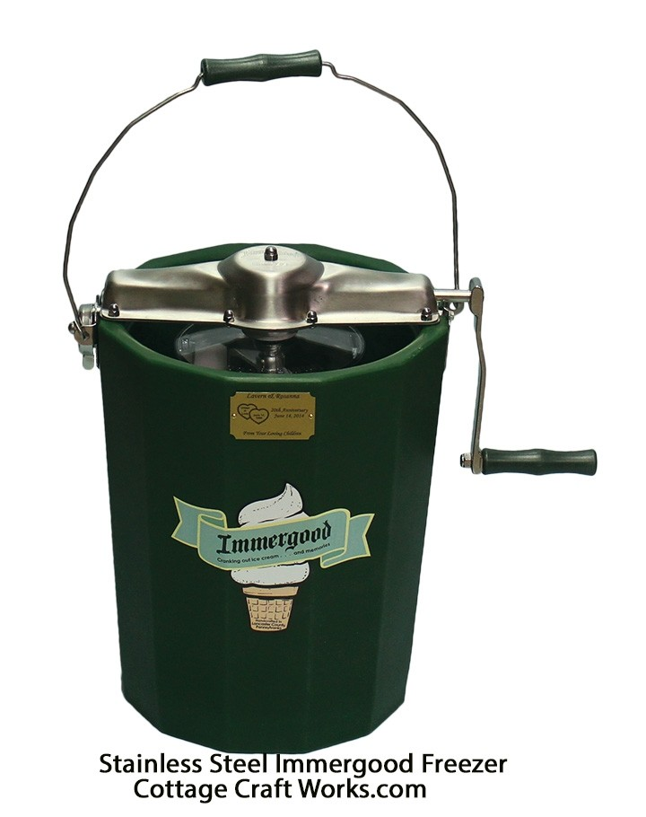 USA Immergood Ice cream freezers | 8 Quart Hand Crank
