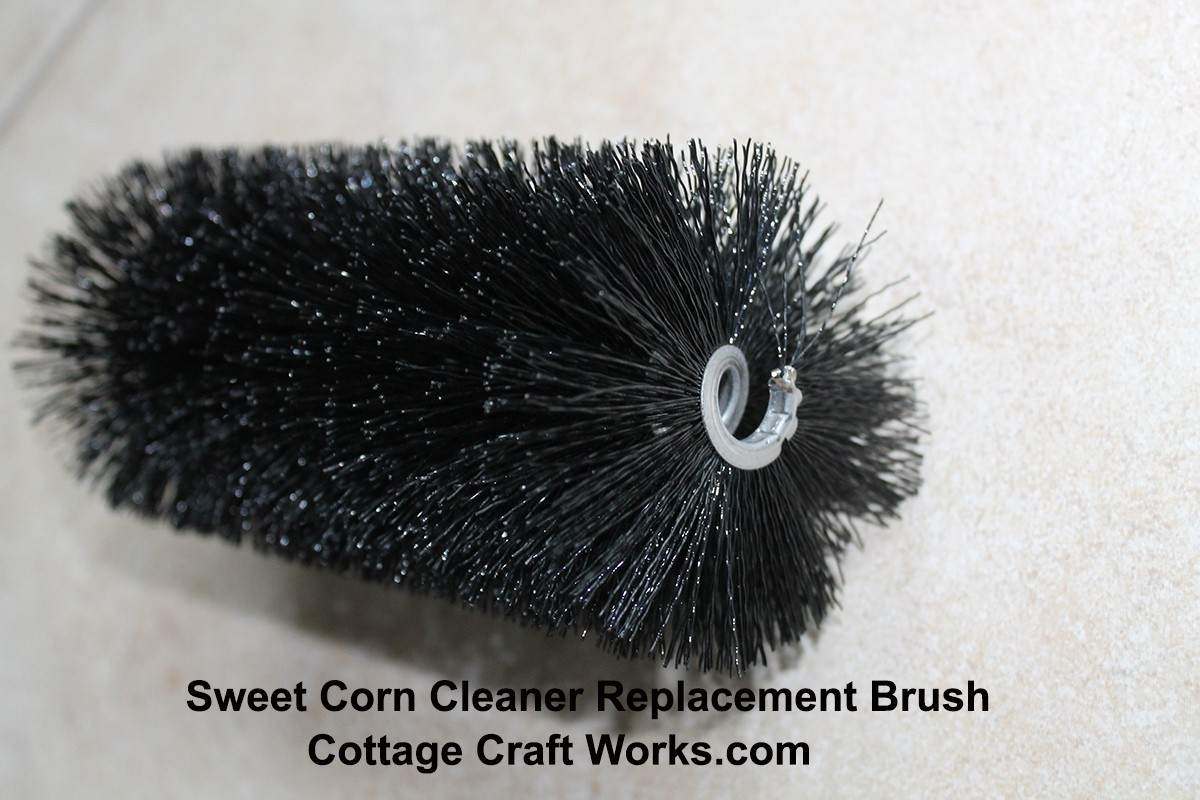 Drill Powered Sweet Corn Silk Cleaner Replacement Brush