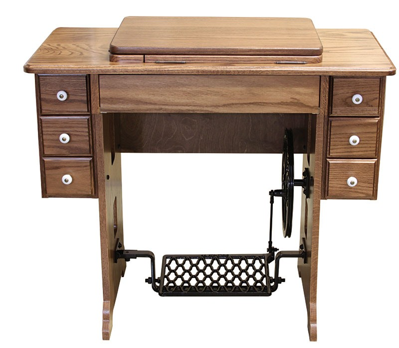 Amish Furniture Treadle Sewing Machine Cabinet   Sewing Cabinets   Amish  Handcrafted Products   Home Goods