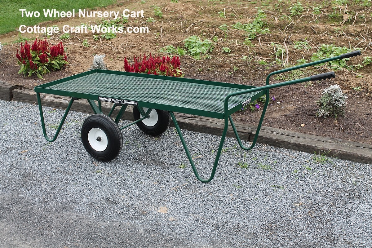 Nursery Cart Wagon Two Wheel Flat Free Platform