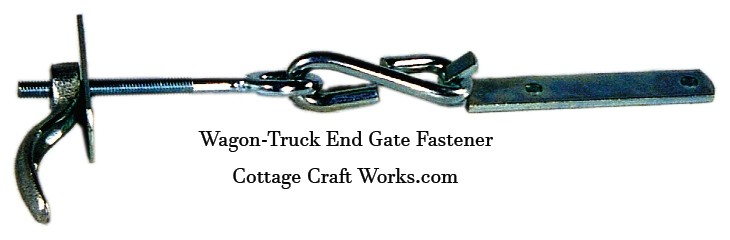 Wagon-Truck Bed End Gate Fastener