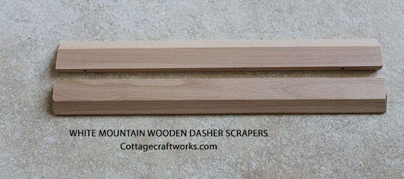 White Mountain Wooden Dasher Scrapers