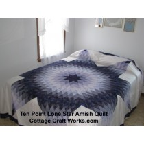 Amish Quilts |Ten Point Lone Star