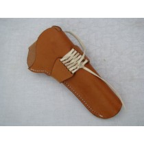 """22 Caliber 6"""" Barrel Leather Holster 