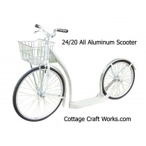 Scooter 24/20 | Aluminum | Push Scooter | Kick bike