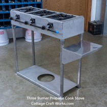 Professional 3 burner LP Gas Portable Cook Stove