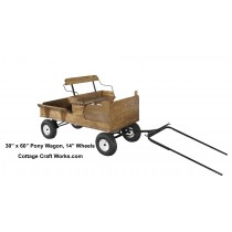 Single Seat Pony-Miniatures Wagon